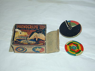 Phonograph Top, Spielzeug, USA, wohl selten