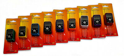Digital Digit LCD Electronic Hand Finger Tally Counter For Golf, School & Spot