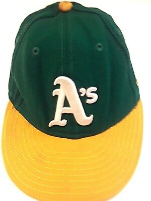 free shipping 246df 81ef7 Oakland Athletics A s MLB Baseball New Era 59Fifty Fitted Hat ...