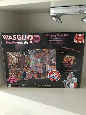 wasgij destiny shopping shake up jigsaw puzzle 1000 pieces toys games