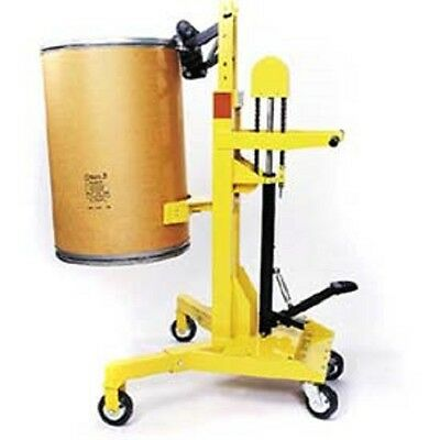 NEW! EasyLift Ergonomic Drum Transporter 400 to 1000 Lb. Foot Pump Lift!!