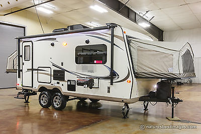 New 2018 Shamrock Model 21DK Hybrid Expandable Slide Out Travel Trailer Not Used