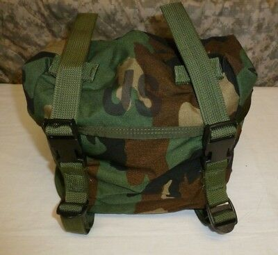US ARMY FIELD TRAINING WAIST UTILITY BUTT PACK ALICE WOODLAND CAMOUFLAGE BAG New