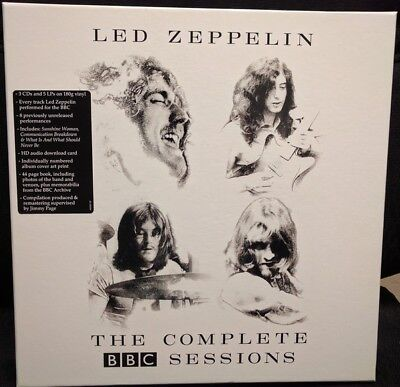 Led Zeppelin The Complete BBC Sessions (Limited-Edition-Deluxe-Box-Set) 5LP+3CD