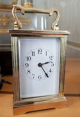 Antique carriage clock by Harris & Harrington
