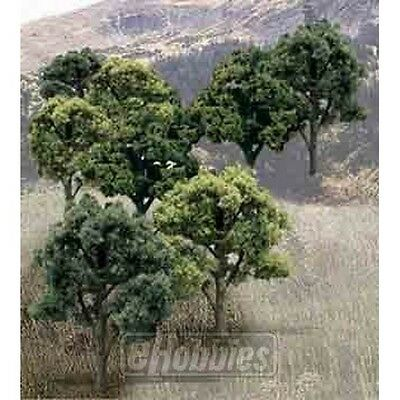 Woodland Scenics WSTR1572 Ready Made Tree Value Deciduous (Set Of 14) NEW