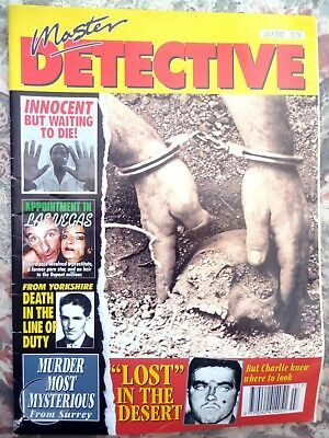 Master Detective Magazine. July 2002. 51 Pages True Stories. Good Condition.