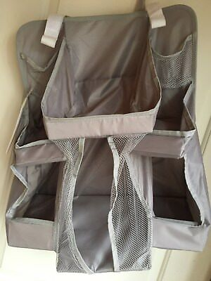 Hanging Organizer For Baby Diaper Caddy Storage Basket Nursery Bin Closet Gray
