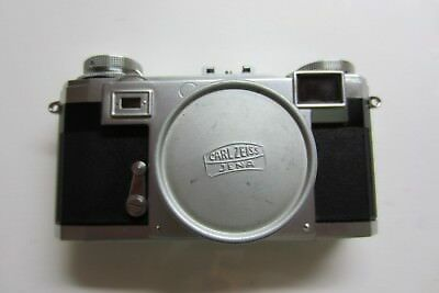 Contax IIa (black dial) mit Zeiss-Opton Sonnar 2/50