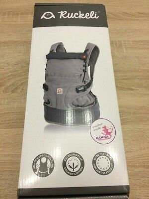 NEU Ruckeli Babytrage Smoky Grey Regular