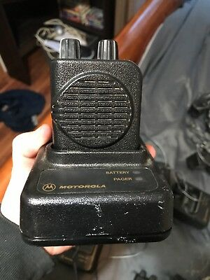 Motorola Minitor IV Pager with Charger