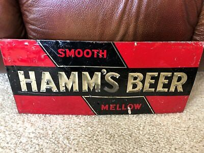 Super Rare Hamm's Beer, TOC, Smooth and Mellow sign, 30's-40's???
