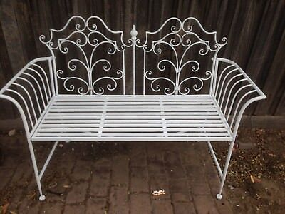 Steel Outdoor Patio Garden Bench Seat