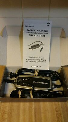 Porsche Charge-O-Mat OEM battery maintainer and trickle charger by CTEK