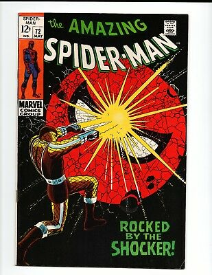 The Amazing Spider-Man #72 (May 1969, Marvel)