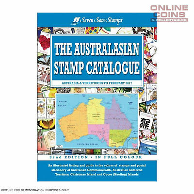 Seven Seas The Australasian Stamp Catalogue 32nd Edition Soft Cover Book - NEW