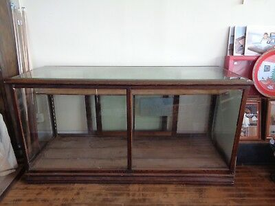 Antique Early 1900s Store Display Cabinet