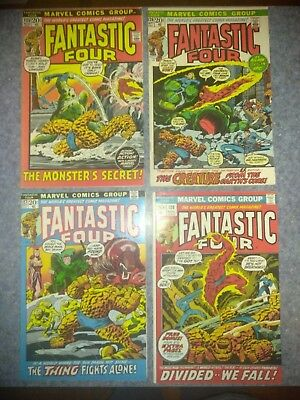 FANTASTIC FOUR #125 thru #200...LOT OF 62... ALL 6.5 to 9.0...MOSTLY HIGH GRADE