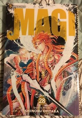 Magi The Labyrinth of Magic vol 28 Shinobu Ohtaka manga English Viz Shonen Jump