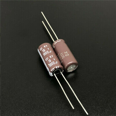 10 Pcs Rubycon MBZ 6.3V 1000UF LOW ESR Made in Japan PC Motherboard Capacitor