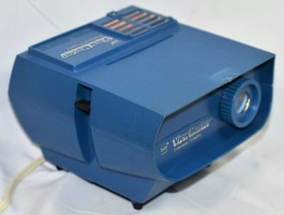 Vintage View Master Model LV 1 Entertainer Projector Blue