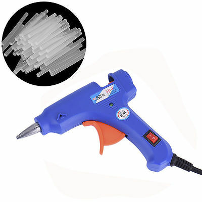 Professional Electric Heating Hot Melt Mini Guns Craft Repair Tool Glue Stick SY