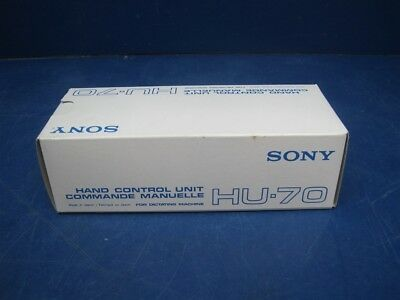 NEW - Sony HU-70 Dictation Microphone for Desktop Dictation Transcriber - Grey