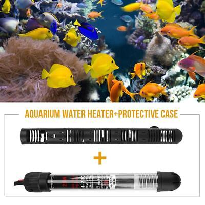 Submersible Aquarium Fish Tank Water Heater 25/50/100/200/300W Thermostat 220V