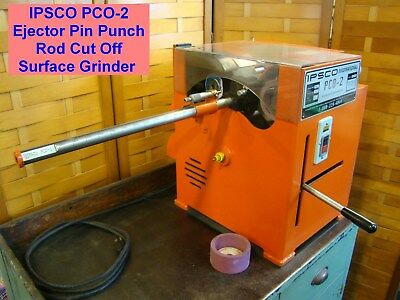 IPSCO PCO2 Ejector Pin Punch Rod Cut Off Surface Grinder Mold Die Press Abrasive