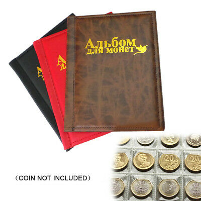 Coin Collecting Album 250-Coins Collection Storage Case Leather Album Book Hot!