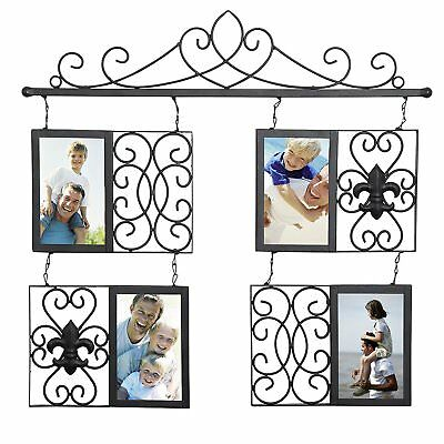 """WOLTU 4 Openings,4x6""""Picture Frame Decorative Wall Hanging Photo Frame"""