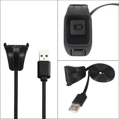 Portable Charging Stand USB Charger Cradle Cable for TomTom Spark Cardio Watch