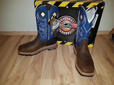 Justin Working Boots NEU 10D