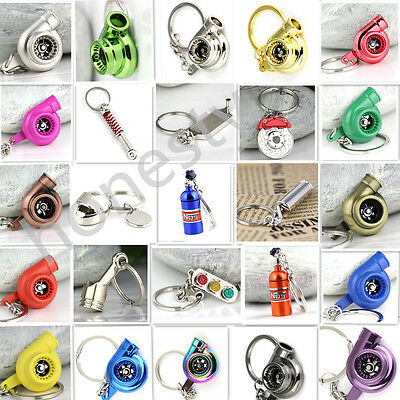 Auto Part Model Keychain Key Chain Ring Keyring Keyfob Car Fans' Favorite Gift