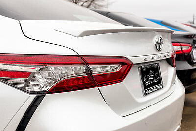 2018 and Up Painted Toyota Camry Factory Style Lipmount Spoiler