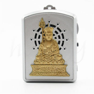 Mini Golden Buddhist Pray Scriptures Music Machine With 9 Kind Buddha Music Song