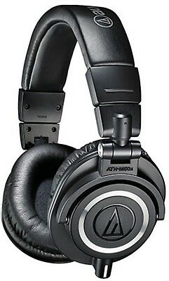 Audio Technica ATH-M50X Professional Monitor Headphones - Official Aussie Stock