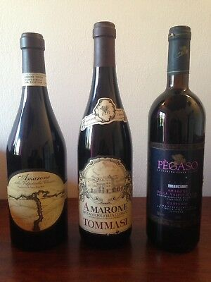 3 Bt Lotto Amarone Della Valpolicella ( Red Wine )