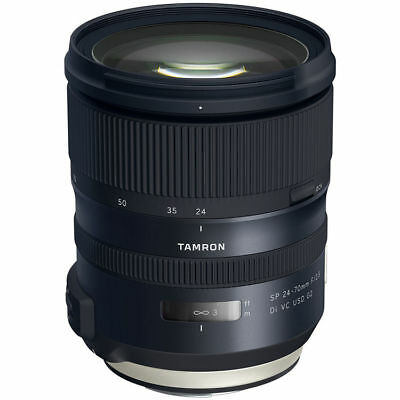 Tamron  SP 24-70mm f/2.8 Di VC USD G2 Lens for Canon EF ~ Brand New