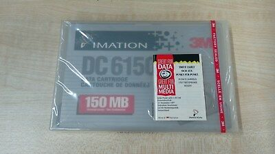 3M  Imation DC 6150 150MB Datenkassette,data tape cartridge NEU, NOS
