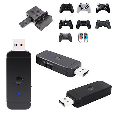 Game Controller Adapter For Nintendo Switch NS PS4 PS3 PC Xbox One S/360 Wii U