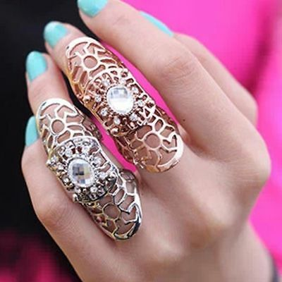 Rings Scroll Joint Full Finger Claw Rings Ring For Women /Men Fashion Jewelry