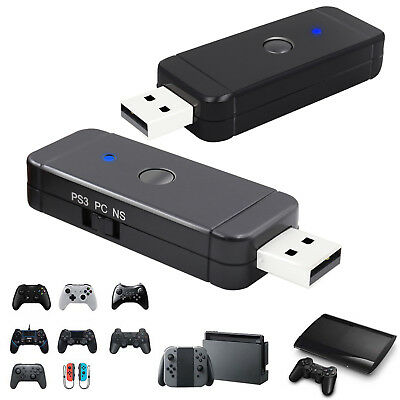 Gaming Controller Adapter For Nintendo Switch Pro PS3 PS4 or PC Xbox One S Wii U