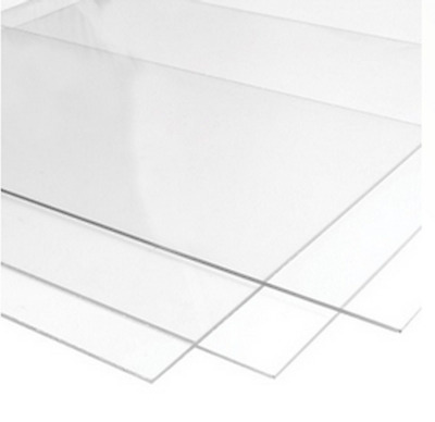 750mm x 1000mm Clear Perspex Acrylic Plastic Sheet - 2mm, 3mm, 4mm Thicknesses (