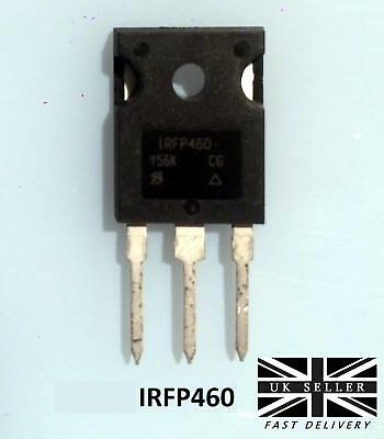IRFP460 20A 500V Power Mosfet N-channel Transistor To-247 UK SELLER
