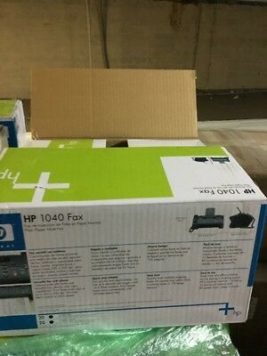 HP 1040 Inkjet Fax Machine PRINT/SCAN/FAX W/builtin Telephone Handset IN SPANISH