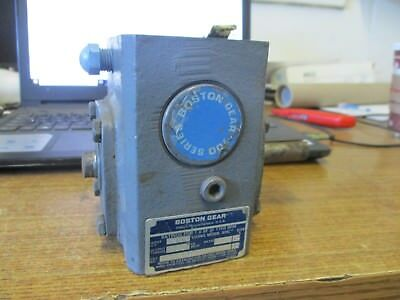 Boston Gear 700 Series Right Angle Gear Reducer 5:1 Ratio F713-5-B5-H