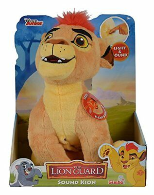 """Simba 109316056 """"The Lion Guard - Kion"""" with Function Soft Toy"""