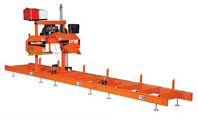 Wood-Mizer LT15 Portable Sawmill - 25HP w/Power Feed, Bed Extension, 15 Blades
