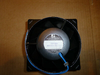 System Papst Industrial Fan - 230V - Type 1550 - Made In Germany -